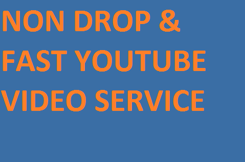Non Drop Organic High Retention Youtube Promotion
