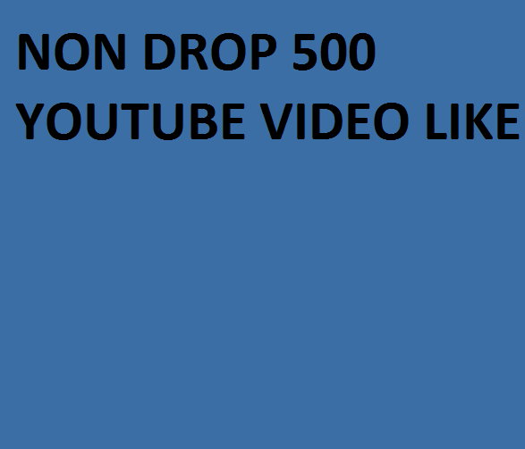 Instant 1000+ Youtube Video like only