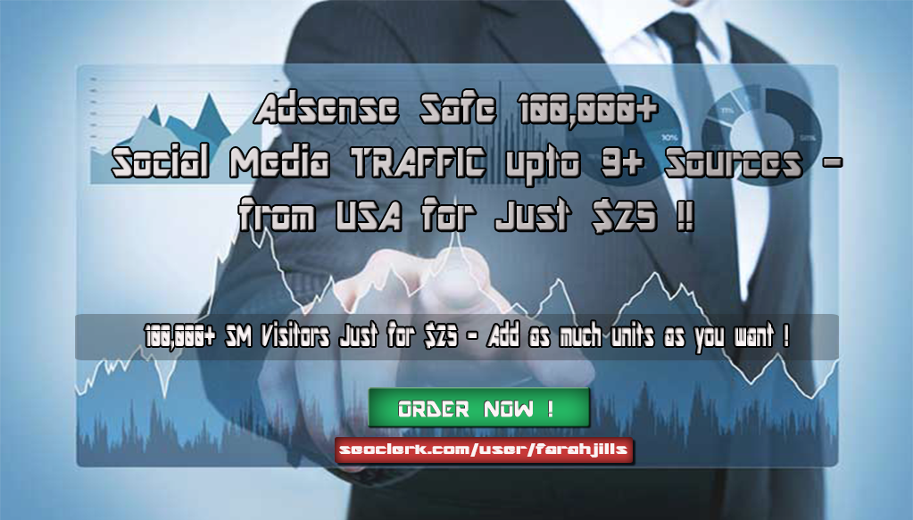 Social Media 100,000+ TRAFFIC to your Websites Blogs ...