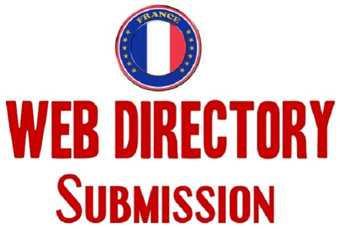 I will do 31 France high pr do follow web directory Submissions