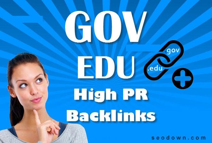 Make 25 USA Based Edu backlinks with 1 Gov Bonus,  best for SEO.