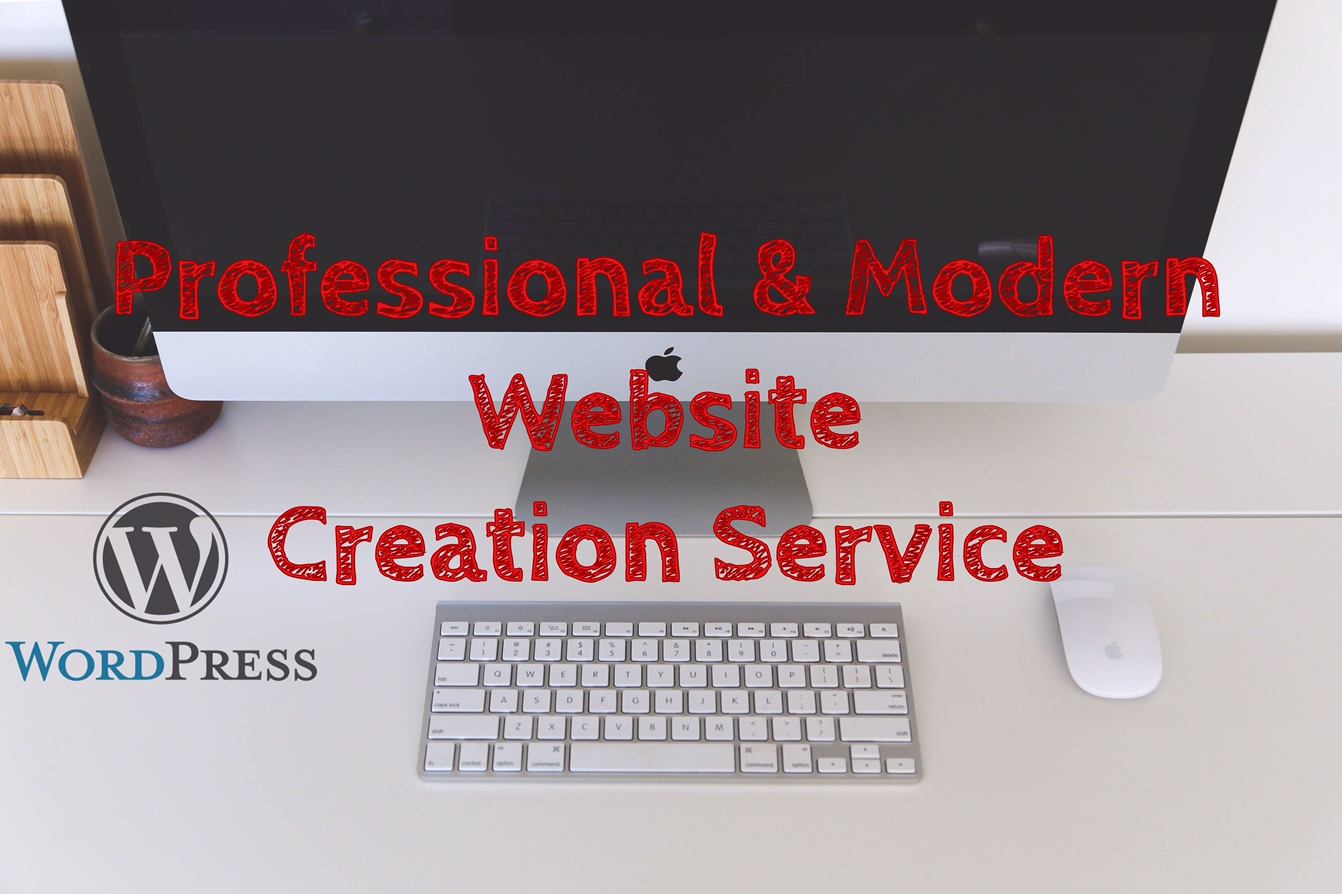 Create a professional and modern website for your business.