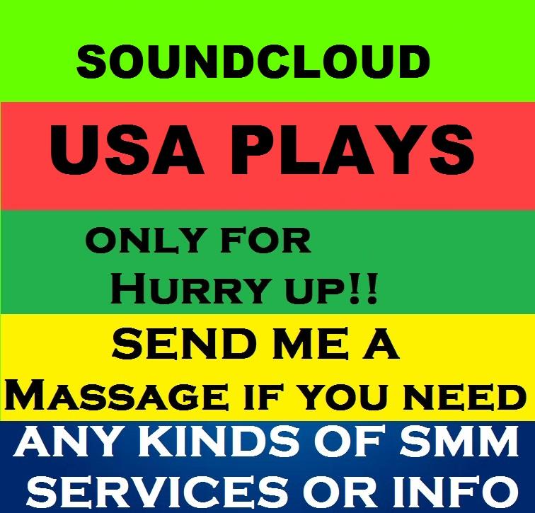 Get Fast 500k  Soundcloud Track Plays