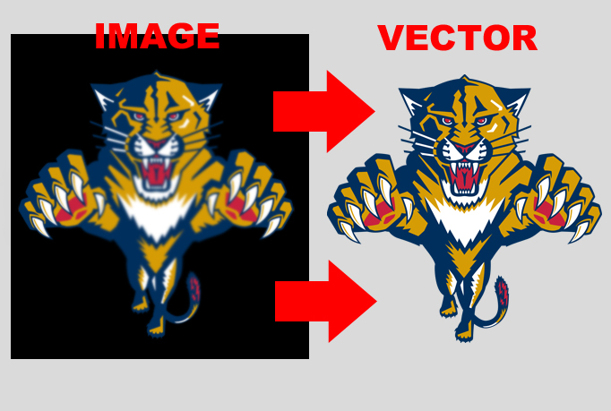 convert your logo or icon in vector