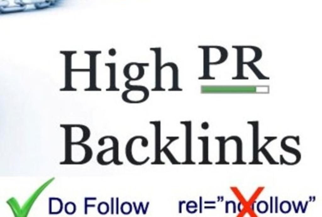 do 50 Niche relavent Backlinks PR 2 to PR 7 High PR D...