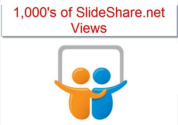 give You 3,507 plus Slideshare dot net Views