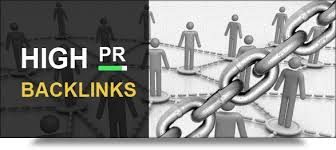 manually create 70 high pr backlinks from actual PR2 to PR7.