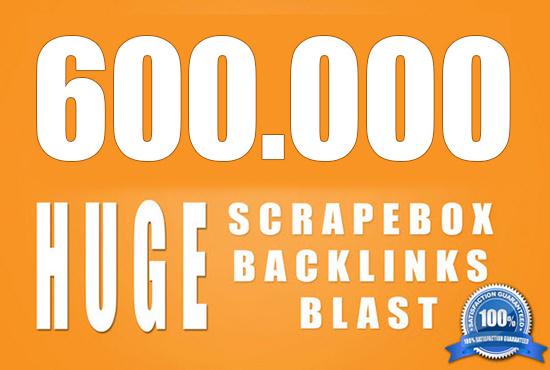 I will 600000 powerful seo backlinks