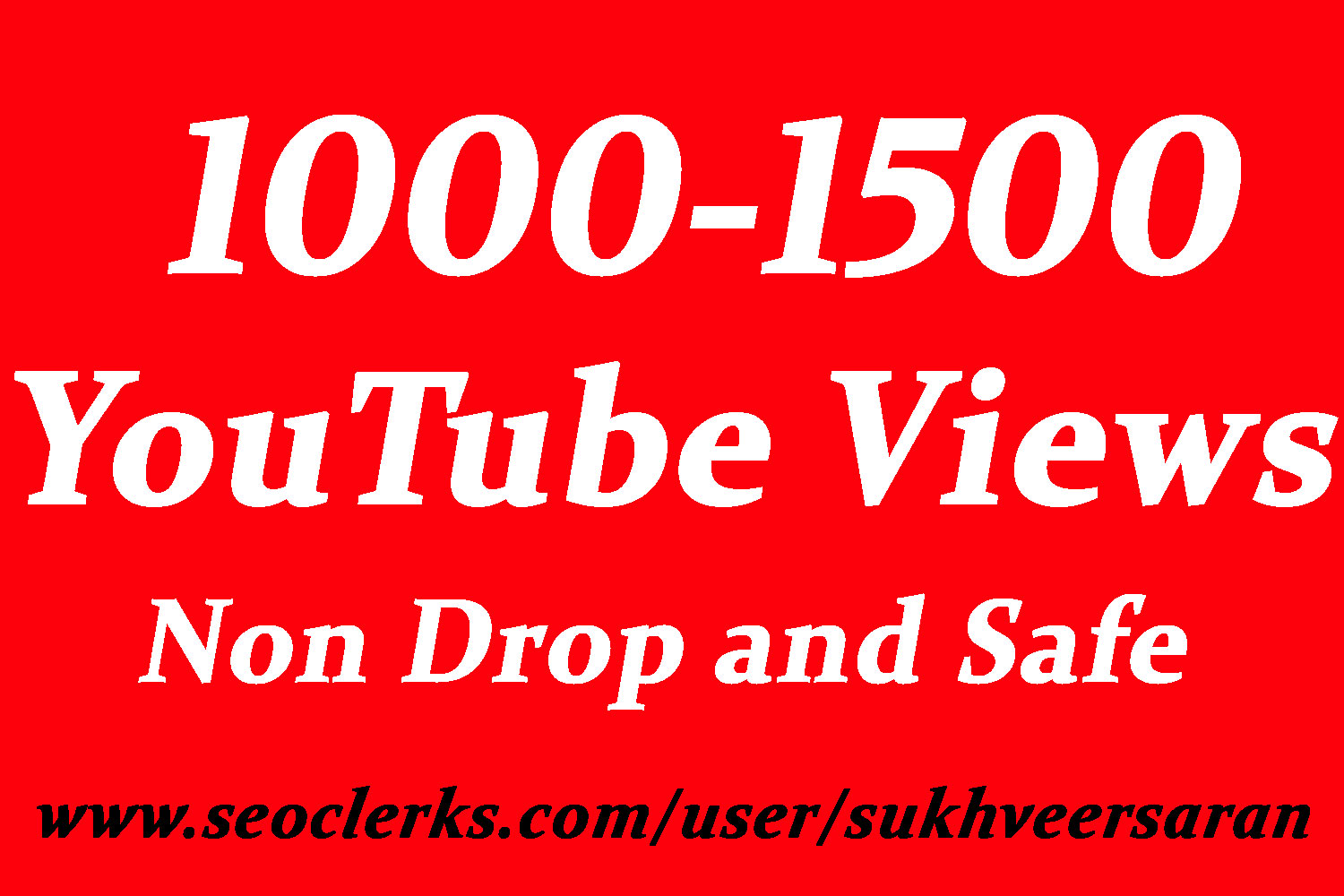 Get 1000 To 1500 High Quality YouTube Views with choice Extra service 2000, 3000, 4000, 5000, 6000, 7000, 8000, 9000,10000, 20000 and 50,000, 50k, 100,000 100k YouTube video Views