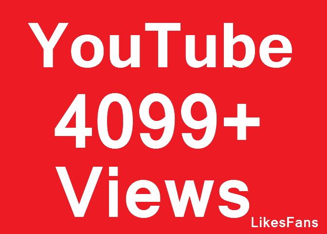 Instant 1 million High Quality YouTube View OR 100 Video Lik