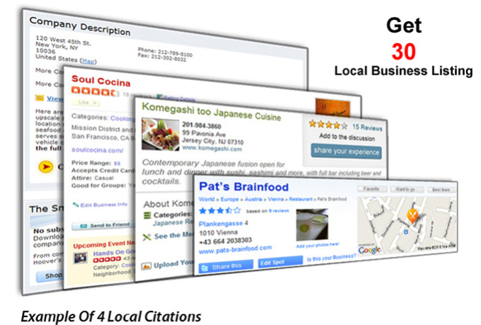 do 30 Local Business Listing or Directory Submission, Manually