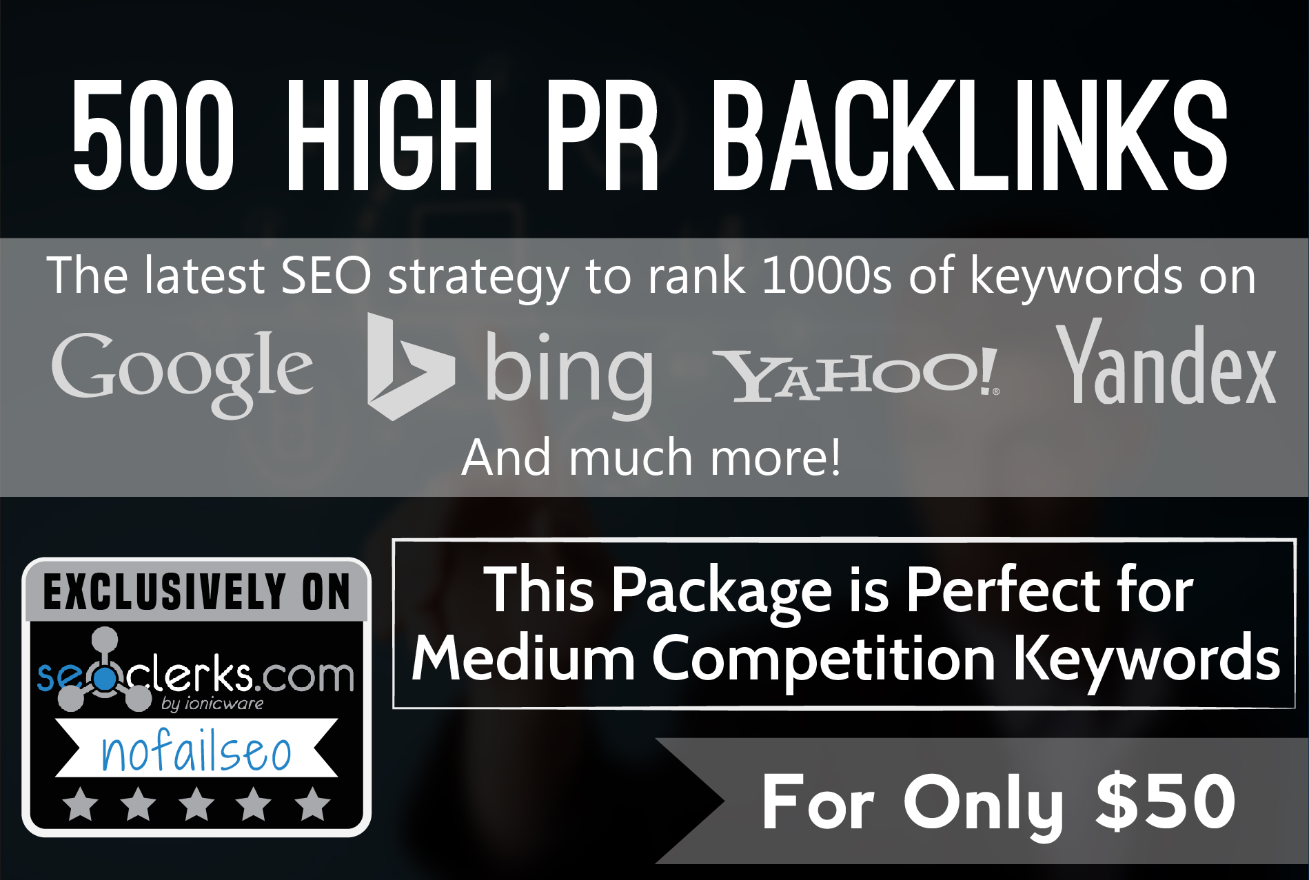 rank any site FAST with 500 High Quality PR DoFollow Backlinks