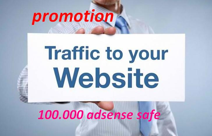 promotion of 2019 !!!! 120.000 visits for your website per week
