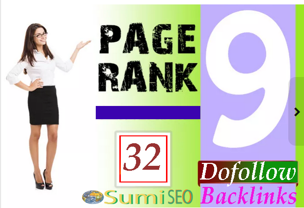 I will manually create 32 PR9-6 High Authority Profile backlinks, best links forever