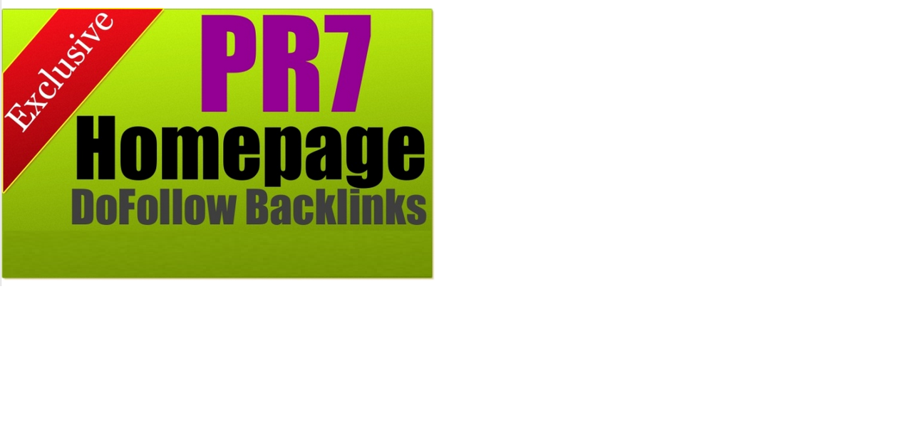 put your link on PR7 Education site