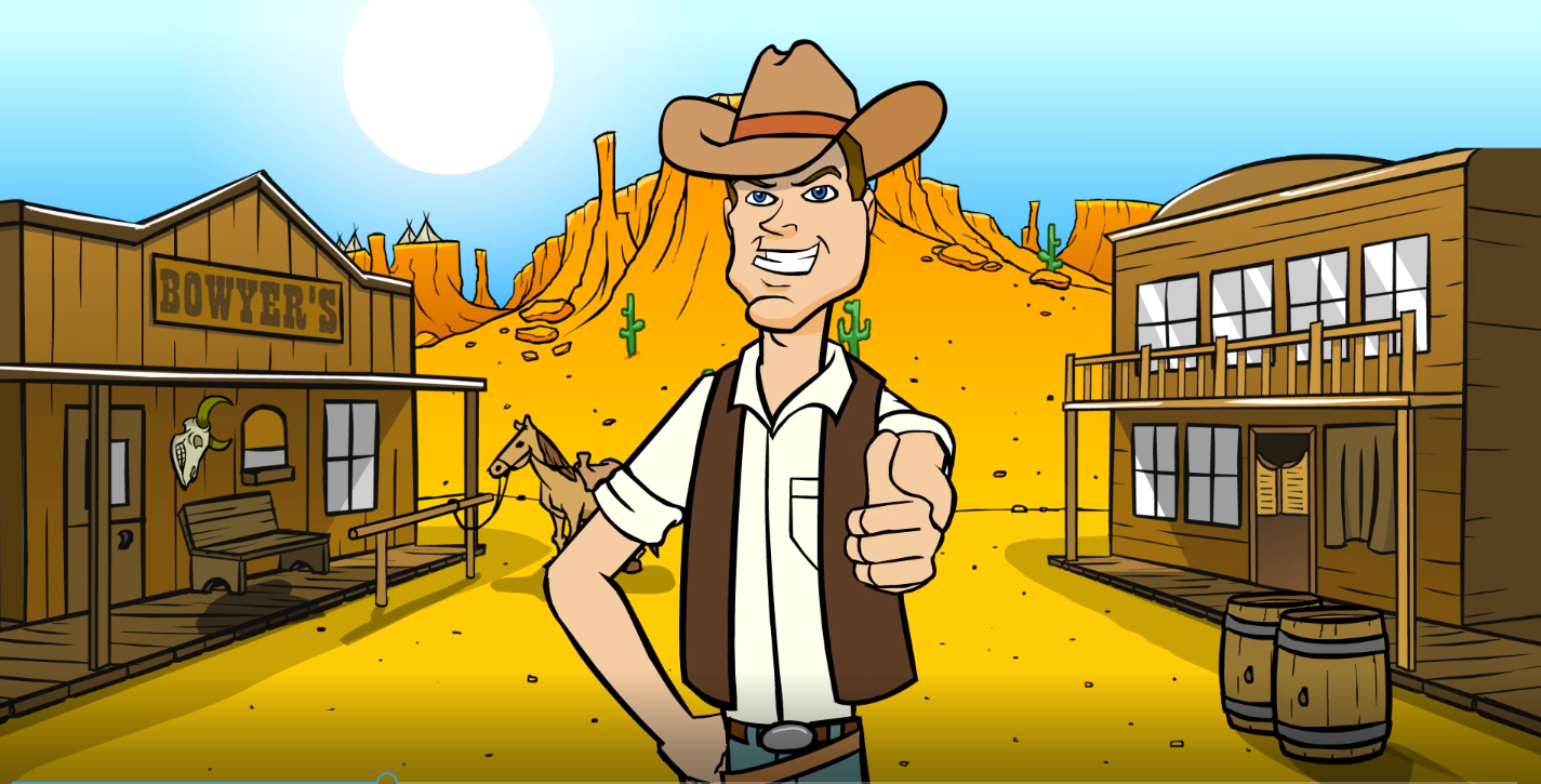 Brilliant-Old-West-2D-Animation-For-You