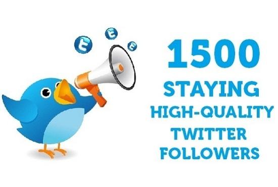 Give You 2000+ Splitable Twitter Followers