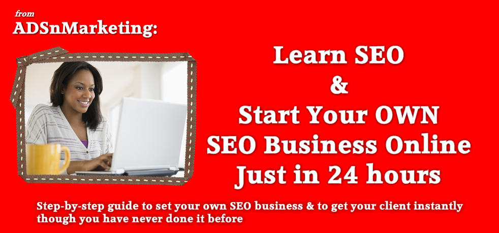 Learn SEO and Start Your OWN SEO Business Online Just in 24 hours