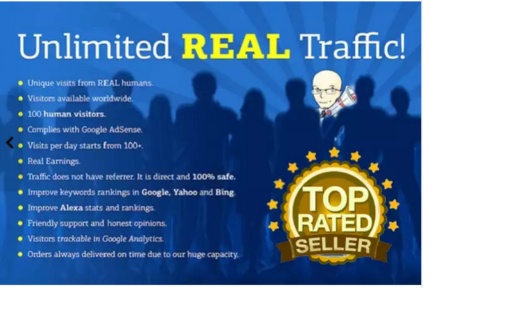 60 Days UNLIMlTED REAL GENUlNE Traffic 18000 Visits 300 Daily TRACKlNG LlNK