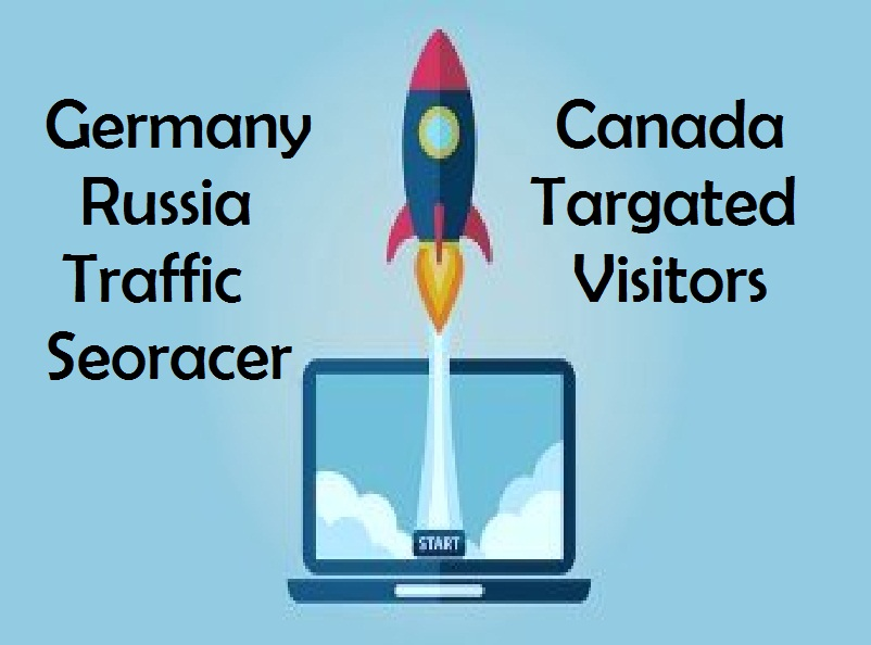 Drive 18.000 Real Germany Or USA Or Canada Or Russia Targeted Traffic to Your Website