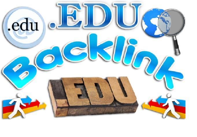 build manually 25 quality edu and gov links