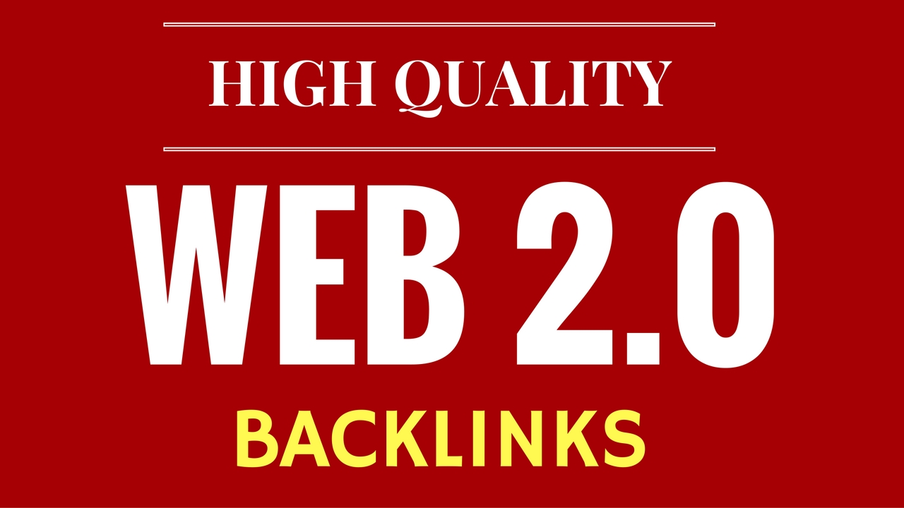 Manually Build 20 Web 2.0 Blog Posts
