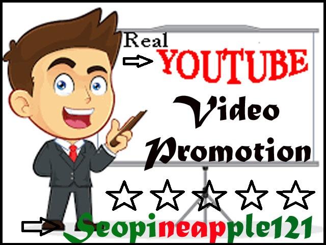 Organic Youtube Video Marketing Promotion Via Fully Safe