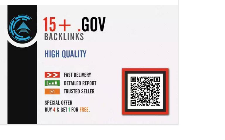 create 15 GOV seo backlink pyramid for your website