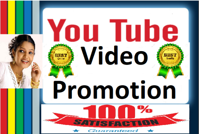 YouTube Video promotion with Non Drop Lifetime Guaranteed