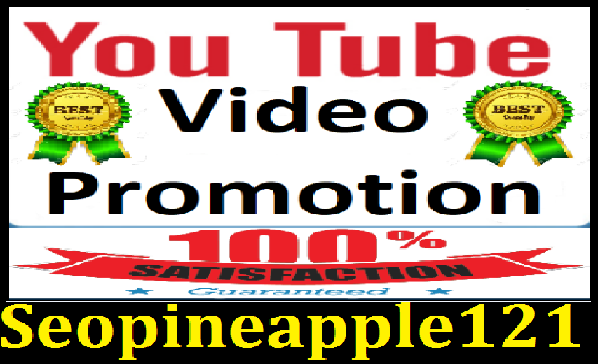 YouTube Video promotion marketing with Exclusive Service