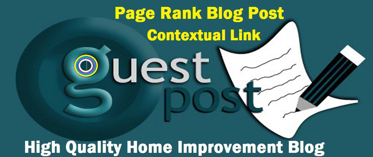 Contextual 500+ words Guest Post,  Dofollow Backlinks