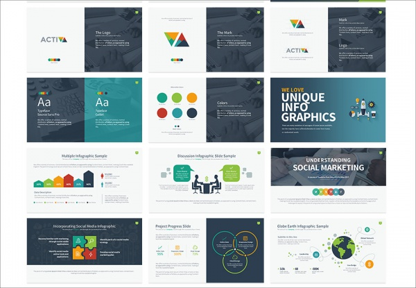 Design 5 Slides Powerpoint PDF Presentation