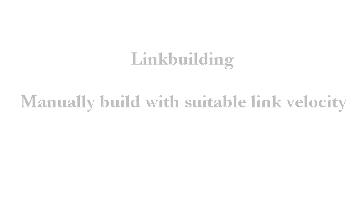 Clean and Simple Linkbuilding Whitehat SEO that works