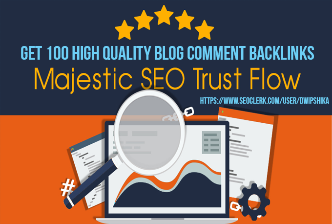 I will provide you 100 High Trust Flow, Citation Flo...