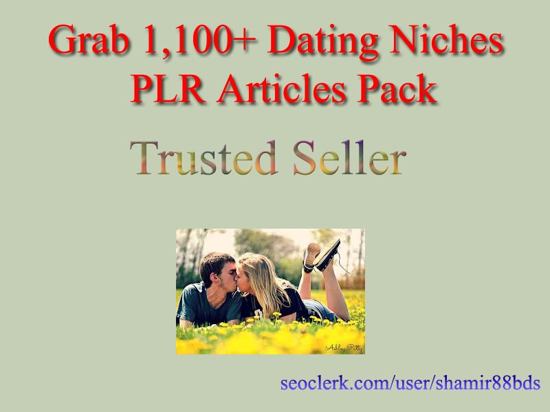 Grab 1,100+ Dating Niches PLR Articles