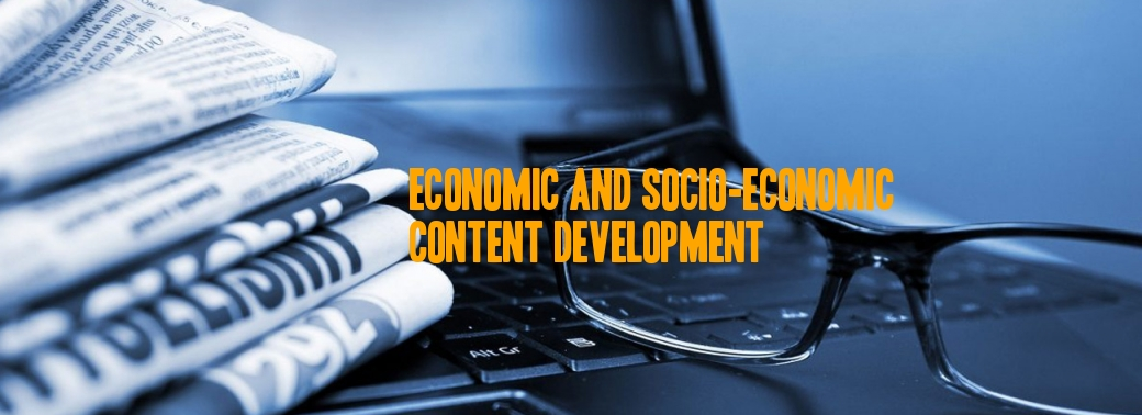 Content Writing in Economics and Social Development