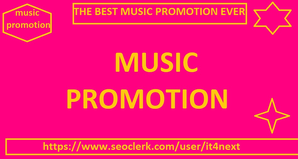 Music Promotion for 3M PLAYS + 300 LIKES + 300 REPOST...