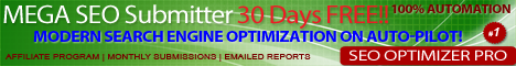 SEO Optimizer Pro  Search Engine, Directory, Classified Ad Submitter. Blast Your Website 30 Days