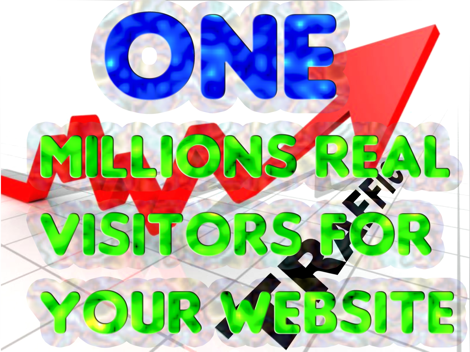 Drive One Millions Real visitors mostly U S A with Low bounce rate traffic
