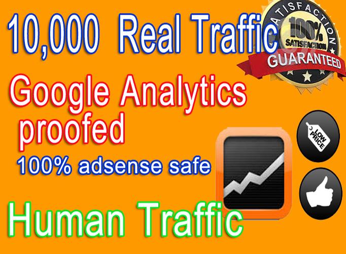 Adsense safe 10,000 Social networks traffic