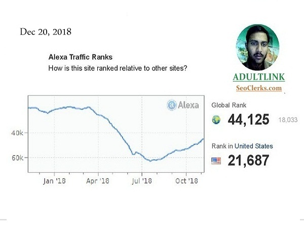 I will improve your Alexa Ranking below USA 51k and G...