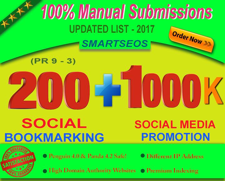 I Will Manually do 200 Social Bookmarking For Any Of ...