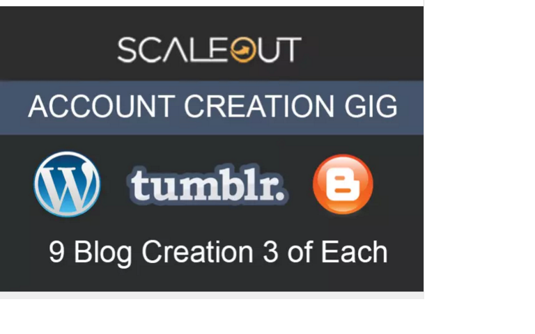 create ScaleOut blogs for you