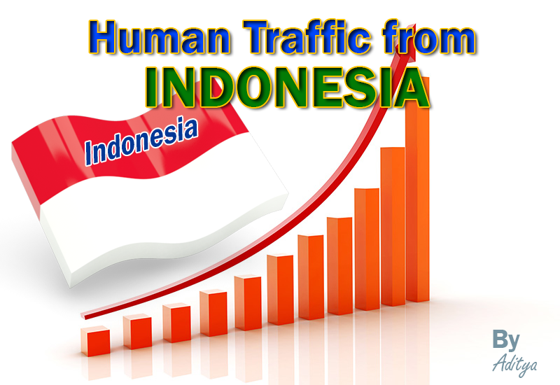 Indonesia - 7 Days Human website visitors