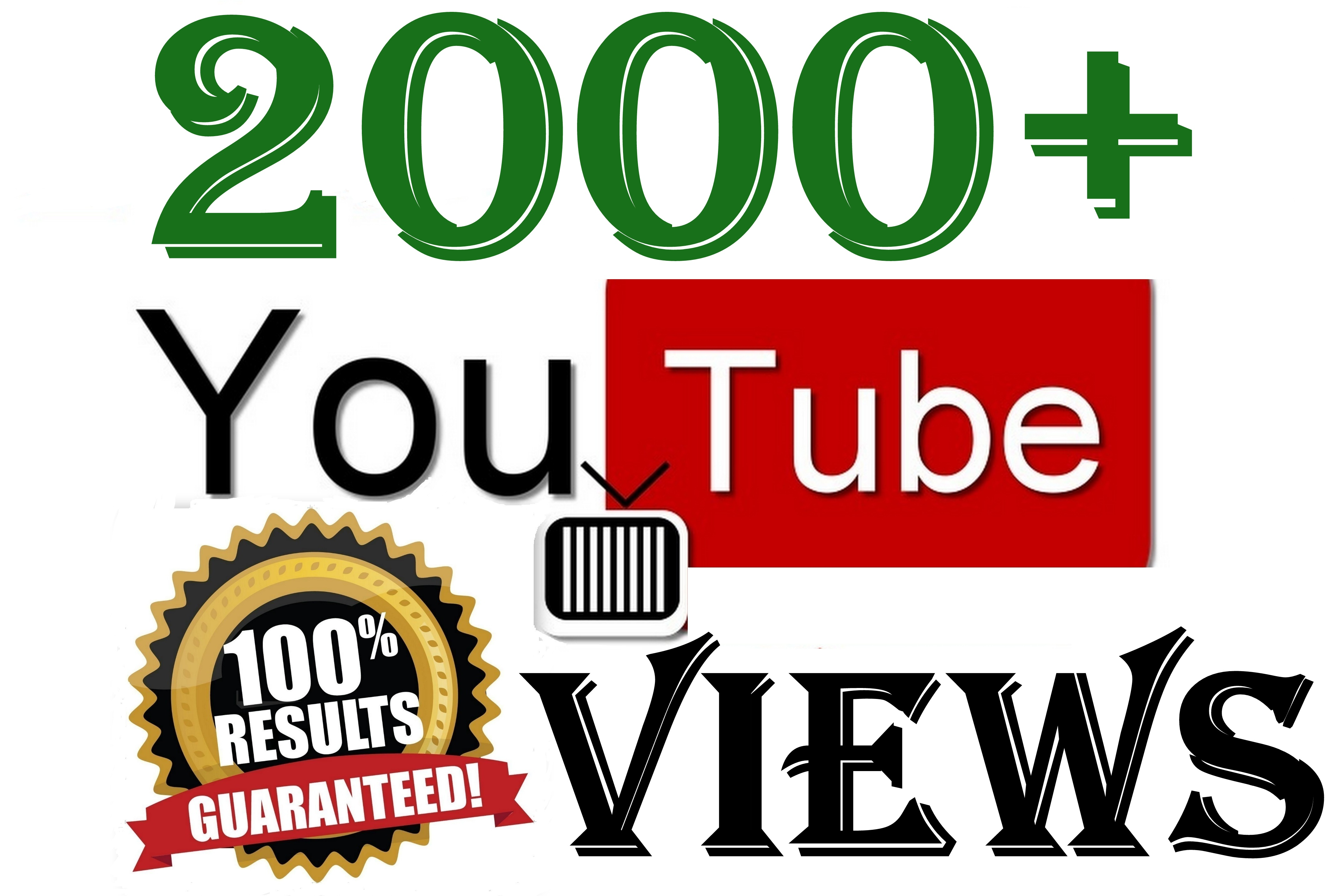 2000+ YouTube Views in 24 Hours Good Retention A+ BrandService