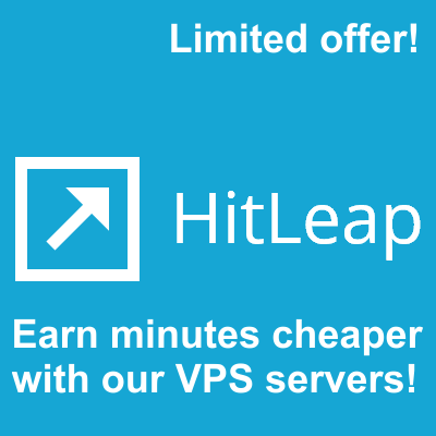 Run your 5 Hitleap Sessions on our stable VPS Servers 24x7 for 30 Days