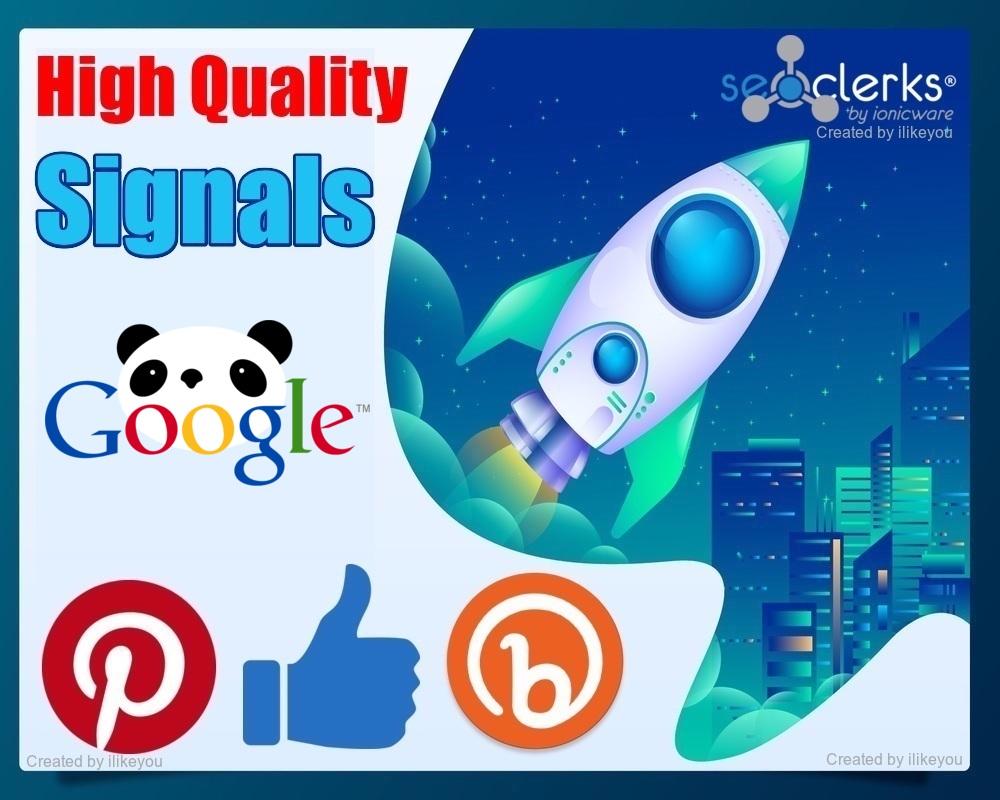 5600 SEO Mixed Social Signals / Backlinks / Bookmarks - Help to ranking