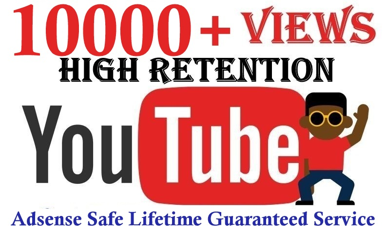 10000+Youtube views fast safe and effective lifetime refill guarantee