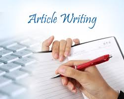 I can write any types of articles for you.