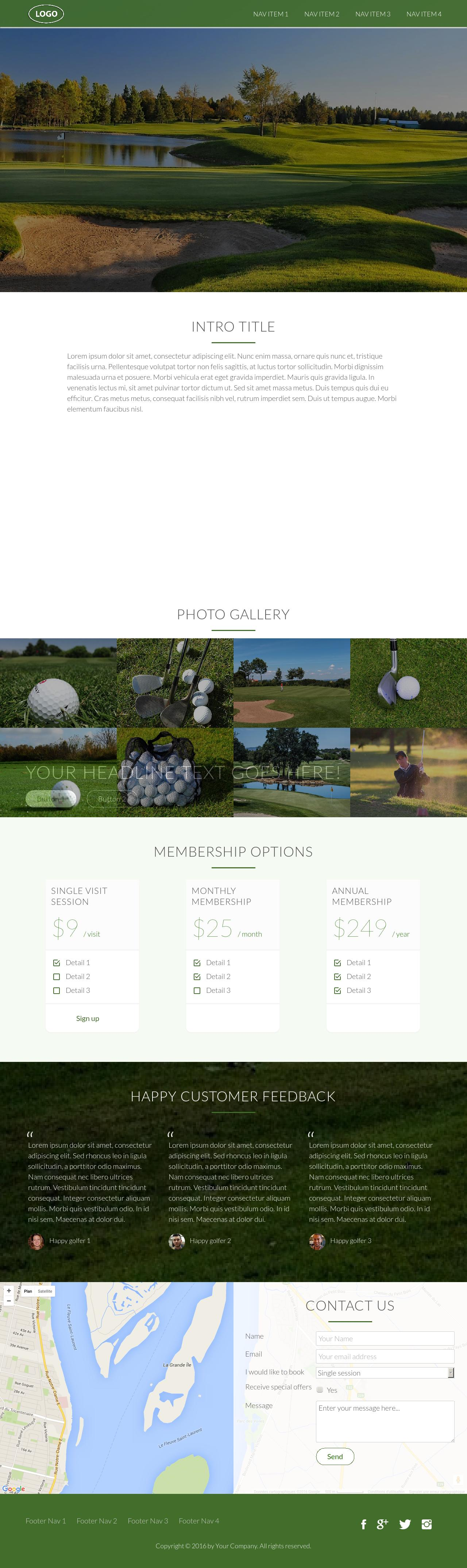 2x Responsive Onepager HTML5 CSS3